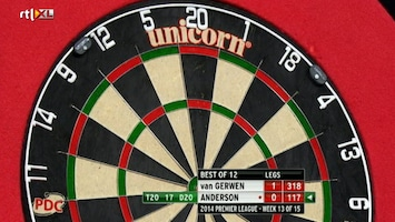RTL 7 Darts: Premier League Afl. 13