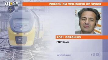 RTL Nieuws 'Machinisten bang voor ongelukken'