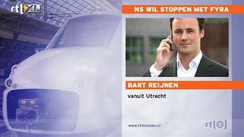 RTL Nieuws 'NS wil stoppen met Fyra'
