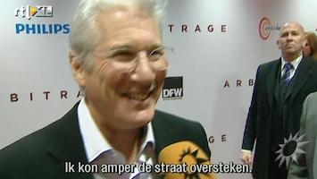 RTL Boulevard Richard Gere bij Nederlandse premiere Arbitrage
