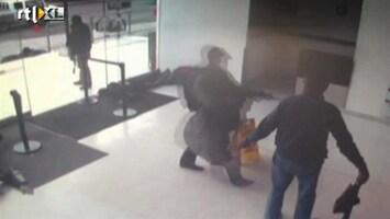 RTL Nieuws Gewelddadige ontsnapping drugscrimineel gefilmd