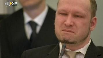 RTL Nieuws Breivik emotioneel van video