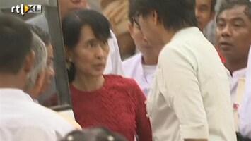 RTL Nieuws Oppositieleider Birma wint bij verkiezingen
