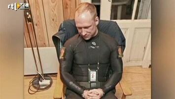 RTL Nieuws Reconstructie arrestatie Breivik