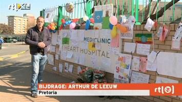 RTL Nieuws 'Berg tekeningen voor Mandela groeit'