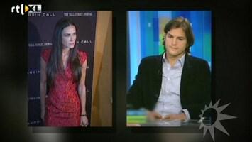 RTL Boulevard Ashton Kutcher en Demi Moore gaan scheiden