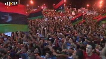 RTL Nieuws Flinke gevechten bij huis Khadaffi