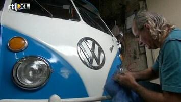 RTL Nieuws Doek valt voor klassiek Volkswagenbusje
