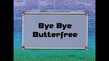 Pokémon - Vaarwel Butterfree