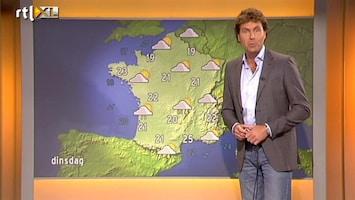 RTL Nieuws Vakantieweer: Duitsland koud, Frankrijk buien