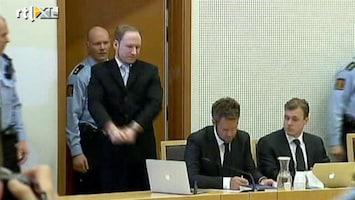RTL Nieuws Breivik aangeklaagd voor terrorisme en moord