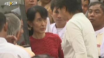 RTL Nieuws Aung San Suu Kyi wint bij verkiezingen