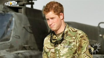 RTL Boulevard Prins Harry in Afghanistan