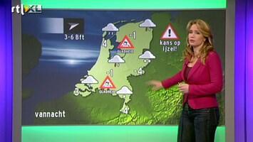 RTL Nieuws Het wordt glad op de weg: kans op ijzel