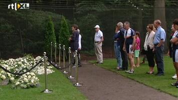 RTL Nieuws Honderden mensen naar graf Friso