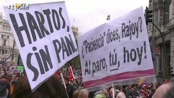 RTL Nieuws Veel demonstraties in Eurozone op Dag van de Arbeid