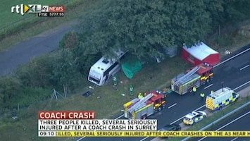 RTL Nieuws Doden bij busongelukken buurlanden