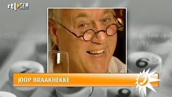 RTL Boulevard Joop Braakhekke zo maar dakloos?