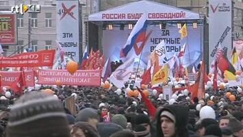 RTL Nieuws Massale betogingen in Rusland