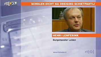 RTL Nieuws Burgemeester Leiden: We nemen dit zeer serieus