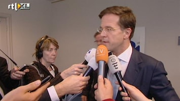RTL Nieuws Rutte: fractie stemt in met onderhandelingsresultaat