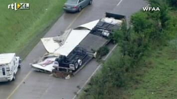 RTL Nieuws Verwoestende tornado's rond Dallas