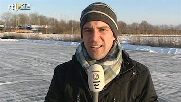 RTL Nieuws Pim Sedee: ijs nog niet veilig genoeg