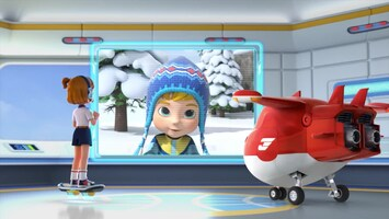 Super Wings Sneeuwbaleffect