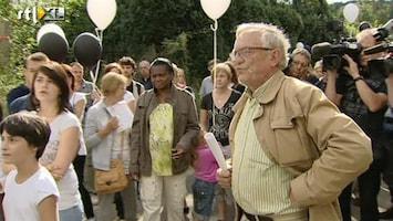 RTL Nieuws Emotionele reacties wanneer klooster Malonne in zicht komt