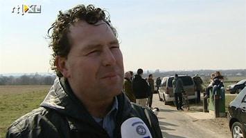 RTL Nieuws Groot forensisch onderzoek in buitengebied Maastricht