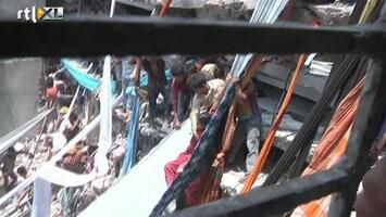 RTL Nieuws Zeker 80 doden door instorten winkelcentrum Bangladesh