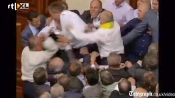 Editie NL Oekraïense politici op de vuist