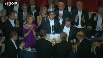 RTL Nieuws Obama en Romney tappen moppen