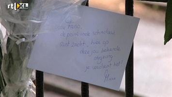 RTL Nieuws Dagjesmensen bij kerkhof Lage Vuursche