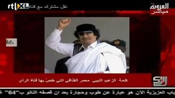 RTL Nieuws Khadaffi: roei die ratten uit