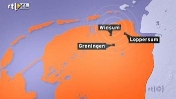 RTL Nieuws Weer aardbeving in Noord-Groningen