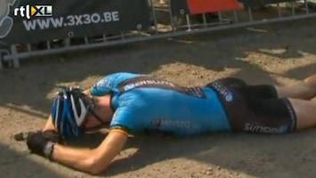 Editie NL Mountainbiker huilt als 'n baby
