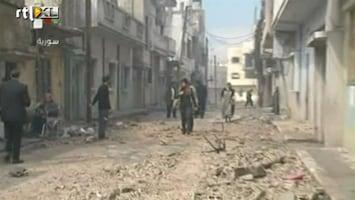 RTL Nieuws Rode Kruis mag Syrische wijk nog niet in