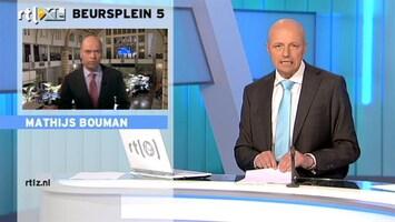 RTL Z Nieuws 16:00 AEX omlaag op tekort handelsbalans VS