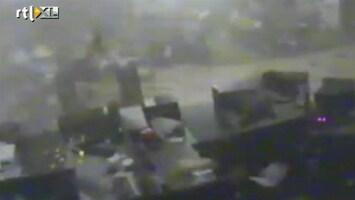 RTL Nieuws Tornado raast door bank