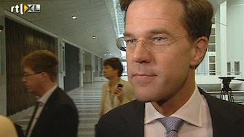 RTL Nieuws Felle kritiek op Mark Rutte om zorgpremie
