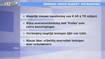 RTL Z Nieuws Contouren nieuw reddingsplan Griekenland langzaam duidelijk