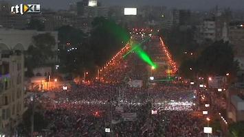 RTL Nieuws Cairo naar een climax