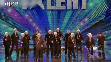 RTL Boulevard Oudjes gaan los in Britain's Got Talent