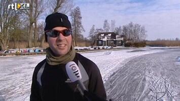 RTL Nieuws Veel schaatsers rijden afgelaste toertocht wel uit