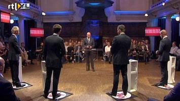 RTL Nieuws Rutte vs. Roemer over de economie