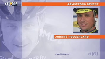 RTL Nieuws Hoogerland: Arsmtrong bevestigt dat de sport nu schoon is