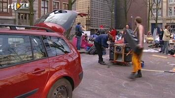 RTL Nieuws Occupy Amsterdam ruimt op, maar in New York...