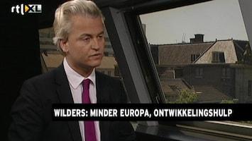 RTL Nieuws Wilders: 'Hardwerkende Nederlander gepakt'