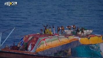 RTL Nieuws Marine beëindigt gijzeling voor kust Somalië